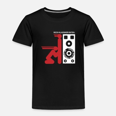 Bob Rock classic: blowing in the wind Bass Boost Box - Toddler Premium T-Shirt