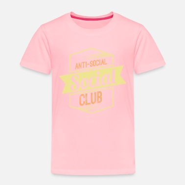 Social Anti Social Club 1 - Toddler Premium T-Shirt