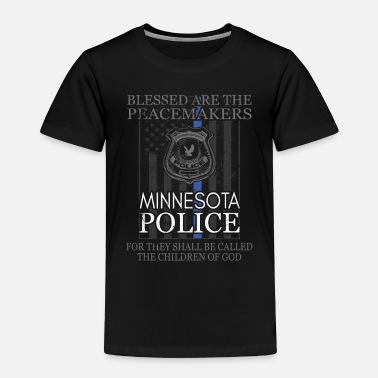 Sheriff Minnesota Police Support Saint Michael Police - Toddler Premium T-Shirt