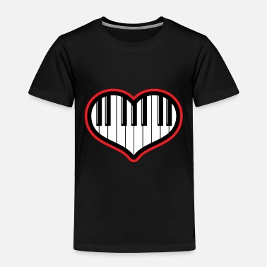 Piano Piano gift piano and grand piano - Toddler Premium T-Shirt