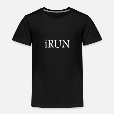 Track And Field Track and Field - iRun - Toddler Premium T-Shirt