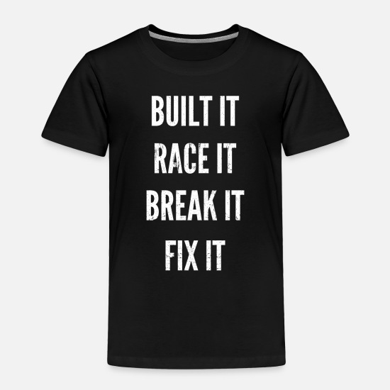 Race Baby Clothing - RC car race racing - Toddler Premium T-Shirt black