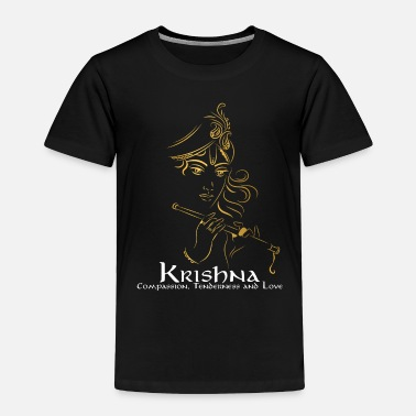 Pay Lord Krishna Design | Hinduism Gift for Believers - Toddler Premium T-Shirt