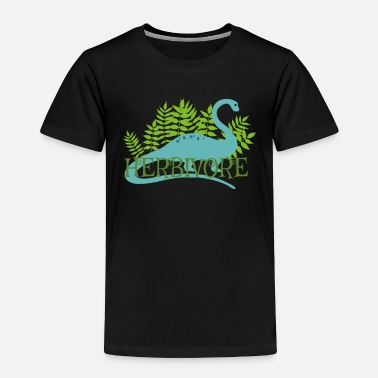 Just Herbivore Dinosaur Vegan Vegetarian Plant Based Li - Toddler Premium T-Shirt
