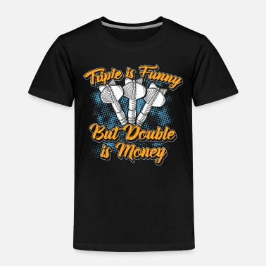 Bulls Eye Darts 180 Sport Pub Drinking Arrow Bullseye - Toddler Premium T-Shirt