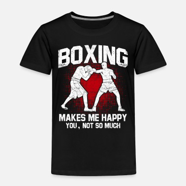 Pain Boxing punch Hook protection sparring shadow - Toddler Premium T-Shirt