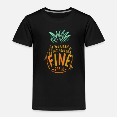 Fashion pineapple ananas 4 - Toddler Premium T-Shirt