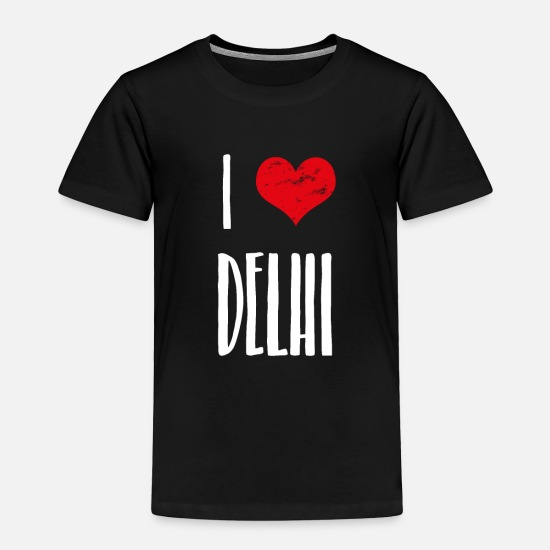 Hindi Baby Clothing - Delhi India - Toddler Premium T-Shirt black