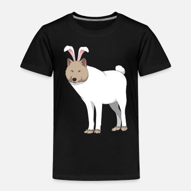 Wolf Wolf Easter Bunny Costume Easter Gift - Toddler Premium T-Shirt