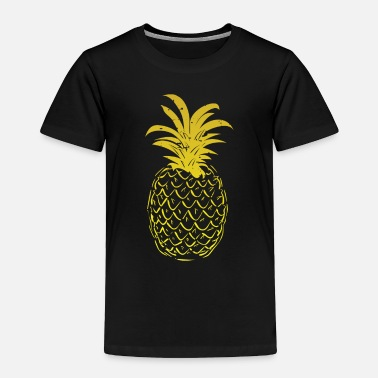 Sour Pineapple Yellow Gold Gradient - Toddler Premium T-Shirt