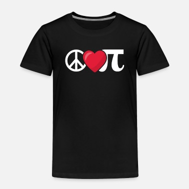 Pi Peace Love Pi Math product - Toddler Premium T-Shirt