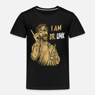 Dr I Am Dr. Unk | Doctor Puns Funny Sayings Medical - Toddler Premium T-Shirt
