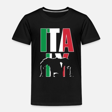 Rugby Supporters Italy Rugby 2019 Fans Kit for Italian Supporters, - Toddler Premium T-Shirt