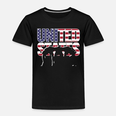 Rugby Supporters USA Rugby 2019 Fans Kit for American Supporters, - Toddler Premium T-Shirt