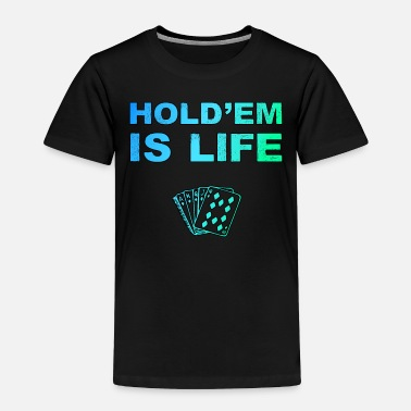 Cigar Poker Holdem Texas Hold'em playing card - Toddler Premium T-Shirt