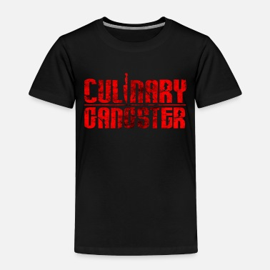 Pastries Culinary Gangster | Cool Chef Typography Cooking - Toddler Premium T-Shirt