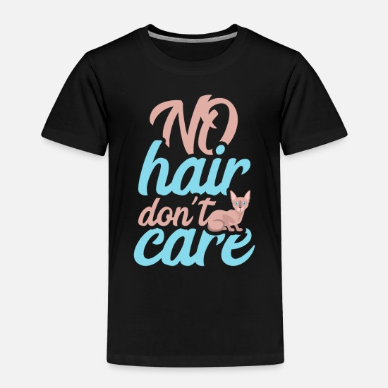 Caregiver Baby Clothing - No hair don´t care - Toddler Premium T-Shirt black