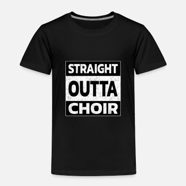 Conductor Conductor - Straight outta Chor - Toddler Premium T-Shirt