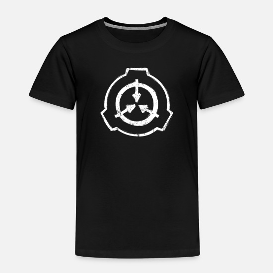 Secret Baby Clothing - Stencil Logo SCP Foundation Secure Contain Protect - Toddler Premium T-Shirt black