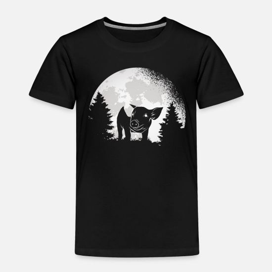 Boar Baby Clothing - Gift for pig lover nice pig - Toddler Premium T-Shirt black