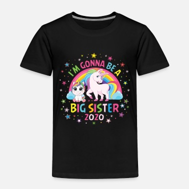 Big I'm gonna be a big sister 2020 - Toddler Premium T-Shirt