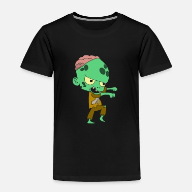 Old Halloween costumes children with motif - Toddler Premium T-Shirt