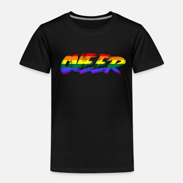 Astrology Queerrainbow pride, Queergay and lesbiantrans zodi - Toddler Premium T-Shirt