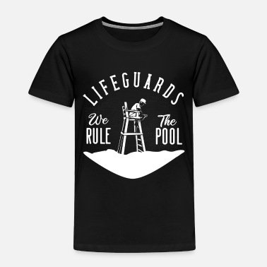 Swim Lifeguard Swimmer - Toddler Premium T-Shirt
