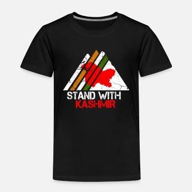 Conflict Stand With Kashmir - Pakistan Stands With - Toddler Premium T-Shirt