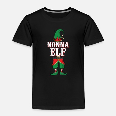 Nonna Elf - Italian Grandma Family Christmas - Toddler Premium T-Shirt