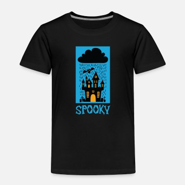 Sour Spooky Halloween Trick or Treat Castel Party Gift - Toddler Premium T-Shirt