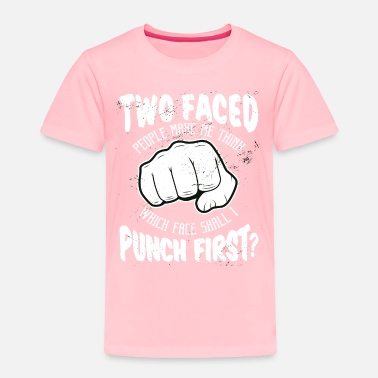 Punch Punch punch fist - Toddler Premium T-Shirt