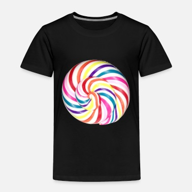 Candy Lollipop Candy - Toddler Premium T-Shirt