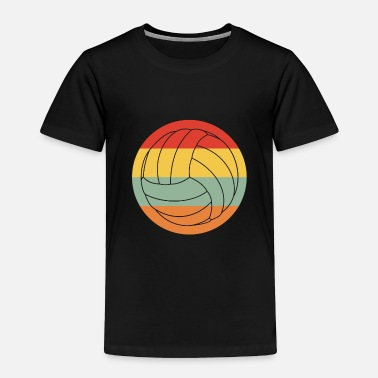 Group Retro Volleyball for whole volleyball team & coach - Toddler Premium T-Shirt