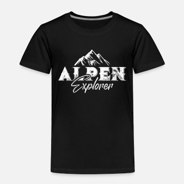 Switzerland Mountains Alps Mountains Saying - Toddler Premium T-Shirt