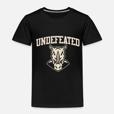 Undefeated Undefeated Rhinos - Toddler Premium T-Shirt