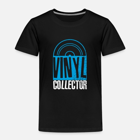 Dj Baby Clothing - Vinyl Records Collector Shirt & Gift Idea - Toddler Premium T-Shirt black