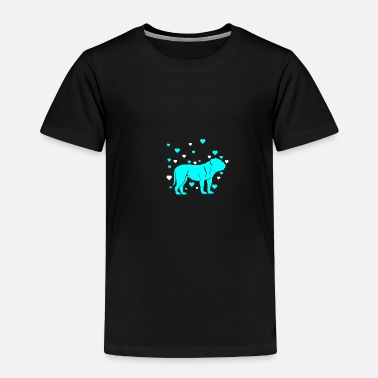 School Bulldog - Toddler Premium T-Shirt