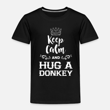 Caress Donkey Petting Zoo - Toddler Premium T-Shirt