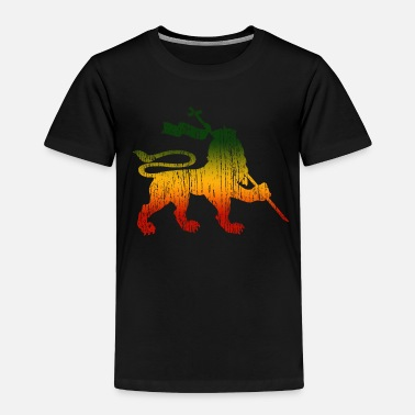 Rasta Lion Of Judah - Reggae Music Rastafari Jamaica - Toddler Premium T-Shirt