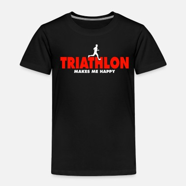 Swim Triathlon Shirt - Toddler Premium T-Shirt