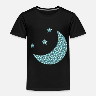 Moon Star Moon and Stars - Toddler Premium T-Shirt