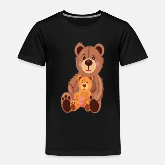 Teddy Bear Baby Clothing - Teddy Bears - Toddler Premium T-Shirt black
