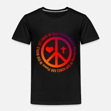 Pacific Peace Pacifism - Toddler Premium T-Shirt