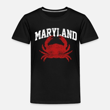 Crab Maryland crabs - Toddler Premium T-Shirt