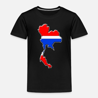 Phuket Thailand flag map - Toddler Premium T-Shirt