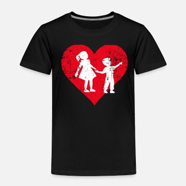 Siblings A Heart For Siblings - Siblings Tee Shirt - Toddler Premium T-Shirt