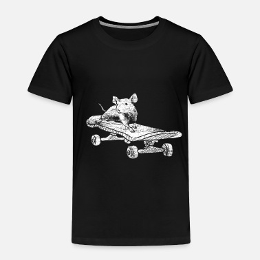 Mouse Mouse Skateboard - Toddler Premium T-Shirt