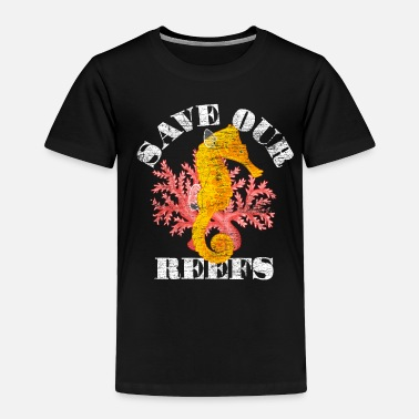 Endangered Sea Horse Endangered Species - Toddler Premium T-Shirt