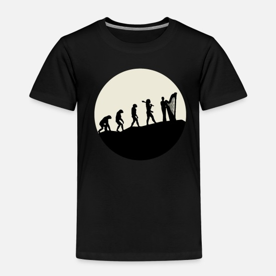 Career Baby Clothing - Conductors Evolution Moon - Toddler Premium T-Shirt black